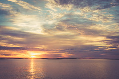 Muscongus Sunrise (jm atkinson) Tags: purple maine muscongus atlantic ocean sunrise