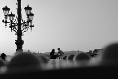 Romance on the bridge (^Joe) Tags: bridge love romance budapest elizabeth outdoor nature architecture bokeh