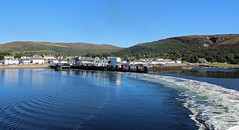 Leaving Ullapool harbour in western Scotland (David Russell UK) Tags: town port harbour travel sea ocean water loch seaforth ferry ullapool west western scotland
