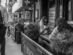 (dannyjive) Tags: streetphotography streettogs nyc restaurant blackandwhite monochrome bnw dannyjive photooftheday 365project