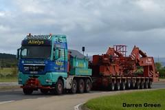 ALLELYS HEAVY HAULAGE MAN TGX 41. 680 V8 T700 AHH (denzil31) Tags: allelys heavyhaulage man tgx t700 ahh stgocat3 grider trailer goldhofer trailers sse transformer mantrucks specialists haulage fort augustus substation