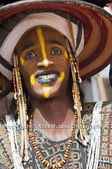 Unknown Wodaabe - Fulani man (Alice Mutasa at PlacesandSeasons) Tags: africa wodaabe fulani peul niger curesale africantradition africanman africanculture westafrica sahel nomad nomadic travel travelling travelafrica wanderlust travelphotography portrait portraitphotography african agadez