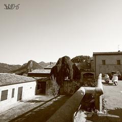 Terrazza panoramica sui Colli Euganei, Teolo, Padova (Davide Anselmi) Tags: panorama panoramic sepia seppia colli collieuganei padova teolo terrazza davideanselmi 2016 italia