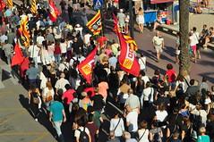 Manisfestation LLORET DEL MAR (9) (hube.marc) Tags: manisfestation lloret del mar espagne spain ccoo syndicat