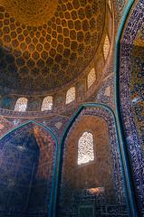Sheikh Lotfollah Mosque (RJDonga) Tags: naqshe jahan square imam shah sheikh lotfollah mosque iran persia esfahan architecture islamicarchitecture islam muslim colours lights window