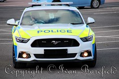 Ford Mustang Police Demonstrator (skippys 999 site) Tags: police cops coppers emergency rescue 999