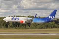 SAS Boeing 737-800 LN-RGI in Special 70 Years Celebration Scheme (Stefan Sjogren) Tags: sas scandinavian airlines celebration scheme 70 years stockholm arlanda boeing 737 737800 new