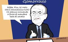 M5S e quel Gomorroico di De Luca: li ammazzerei tutti quelle mezze pippe (SatiraItalia) Tags: satira deluca m5s gomorra
