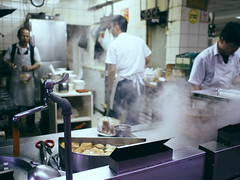 The chinese resaurant (imnOthere0) Tags: hard working people snapshot restaurant kitchen chef