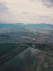Mexico City from above (justmyfotozz) Tags: cdmx mexico benito juarez aeripuerto aeropuerto airport fly wings aeromxico united unitedairlines mex mx