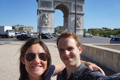 Arc de Triomphe, Paris (das21) Tags: paris france arcdetriomphe florence me