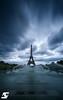 Cloudy (A.G. Photographe) Tags: anto antoxiii xiii ag agphotographe paris parisian parisien france french français europe capitale nikon nikkor d810 1424 toureiffel eiffeltower trocadéro longexposure poselongue nuageux cloudy 14juillet