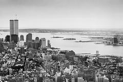 Manhattan from Empire State Building (johnlgardiner) Tags: new york city manhattan sky scraper empire state world trade center wtc
