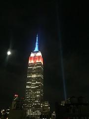 IMG_0482 (gundust™) Tags: nyc ny usa september 2016 newyork newyorkcity manhattan architecture esb empirestatebuilding skyscraper september11th 911 tributeinlight xeon twintowers memorial remembrance night
