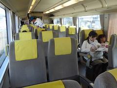 Haruka travel (seikinsou) Tags: japan spring haruka train jr railway kyoto kix kansai airport interior seat