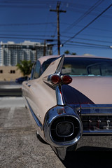 Pink Cadillac (Guillaume DELEBARRE (Guigui-Lille)) Tags: car canon 6d canoneos6d tamron2470f28 lasvegas pink rose usa bluesky icne chromes americancars americanclassic classic nevada