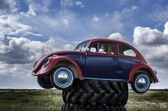 Herbie Rides Again (Stubble Jumper Photography) Tags: vw volkswagen skeleton bug beetle type1 peoplescar