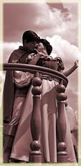 True Love (littlestschnauzer) Tags: park summer vacation usa white holiday snow love smiling happy nikon princess magic parks parades kingdom prince disney parade disneyworld together theme wdw hold princesses 2012 disneys d5000