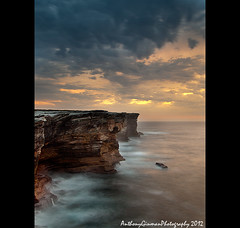 Cape Bailey Cliff (AnthonyGinmanPhotography) Tags: sunrise cliffs kurnell botanybaynationalpark capebailey