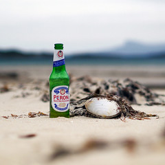 I Dream Of Jeannie (Andrew Lockie) Tags: beach beer scotland highlands bottle arisaig invernessshire camusdarach