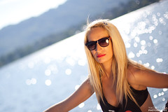 Miss G in summer! (yago1.com) Tags: summer portrait people lake girl face head blond 2012 yago1