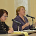 UN Women Executive Director Michelle Bachelet participates in an interactive discussion with students from Shibuya Junior and Senior High School on 12 November 2012