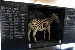 Zebra (Val in Sydney) Tags: sculpture art beach animal sydney australia tent nsw zebra rod sculpturebythesea mcrae wonders 2012 the tamarama sxsbondi