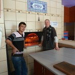 "Ibrahim and the etli ekmek oven <a style=""margin-left:10px; font-size:0.8em;"" href=""http://www.flickr.com/photos/59134591@N00/8181758067/"" target=""_blank"">@flickr</a>"