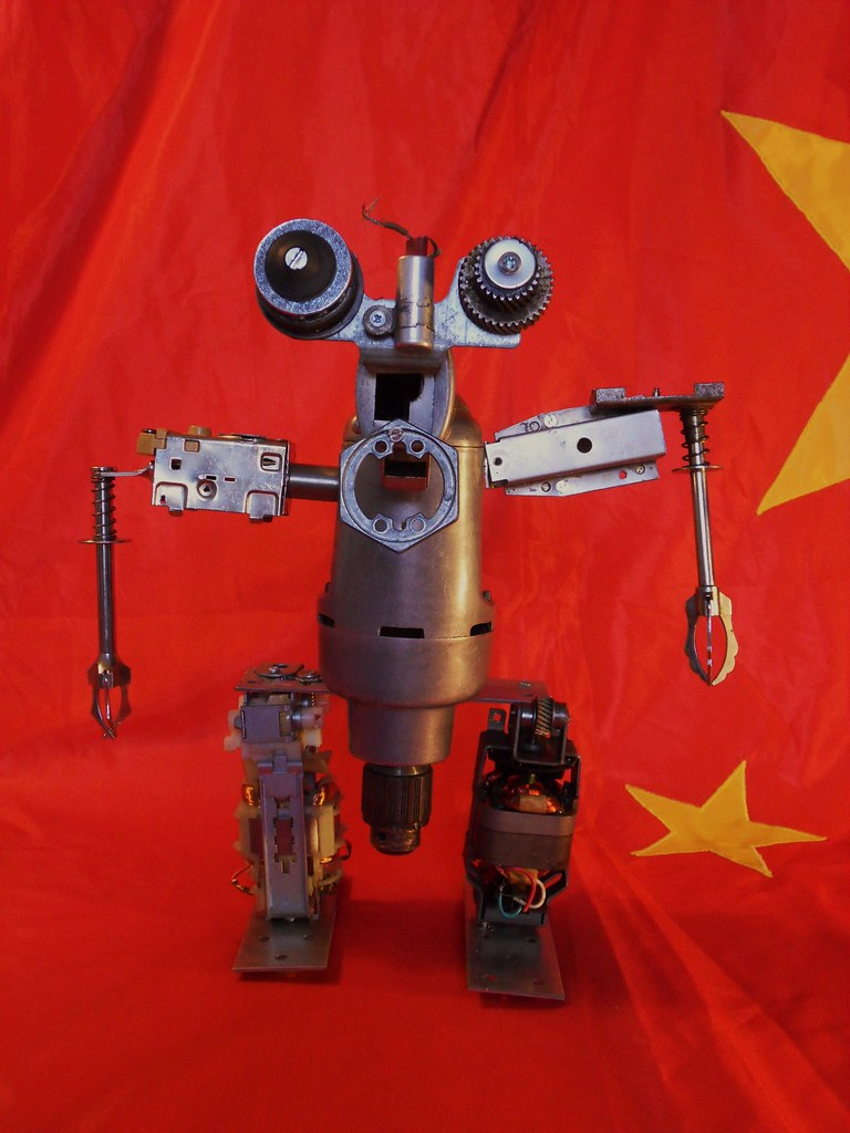 The World S Best Photos Of Recycledrobotsculpture And