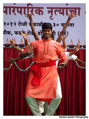 Happy Diwali 2012 - Ganapati Aarti Performance (Raman_Rambo) Tags: road india happy dance celebration celebrations ganesh program diwali cultural mandir ganapati shubh 2012 deepavali marathi mudra kathak lavani phadke ganeshmandir dombivli maharashatra happydiwali lavni maharastrian kalaniketan lejhim phadkeroad dombivlikar shreemudrakalaneeketan kalaneeketan