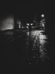 In Gloom (Yves Roy) Tags: street city shadow urban blackandwhite bw black graveyard contrast dark austria blackwhite raw moody darkness noiretblanc 28mm snap fav20 explore gloom fav30 yr fav10 ricohgrd blackwhitephotos grdiii yvesroy yrphotography