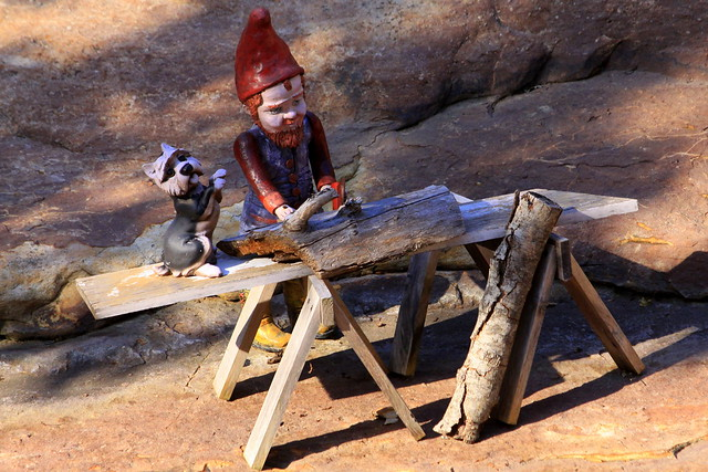 Rock City's Gnome Valley #6 Woodworking