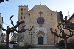 Sant Salvador de Breda (Monestirs Puntcat) Tags: selva iglesia salvador breda sant monasterio monestir església