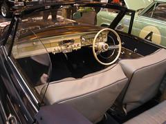 Borgward Isabella interior (andreboeni) Tags: auto classic cars interior convertible retro german oldtimer dashboard isabella autos cabrio voitures deutsche cabriolet borgward fascia drophead