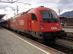 Worgl (mostlybytrain) Tags: train tirol loco locomotive tyrol lok obb oebb ostereich westbahn railjet