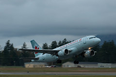 Air Canada 190 (C McCann) Tags: canada vancouver island airport bc aviation air north columbia victoria international airbus british sidney saanich a319 cyyj cywh cfzuj aca190 fzuj