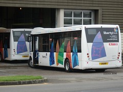 Libertybus OSR 11 & 12 (Coco.3006) Tags: uk islands ct solo jersey plus channel optare libertybus