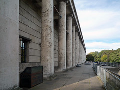 Haus der Kunst, back porch