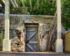 Historic building in downtown Key West Florida (PhotosToArtByMike) Tags: building ruins florida historic fl keywest floridakeys monroecounty downtownkeywest