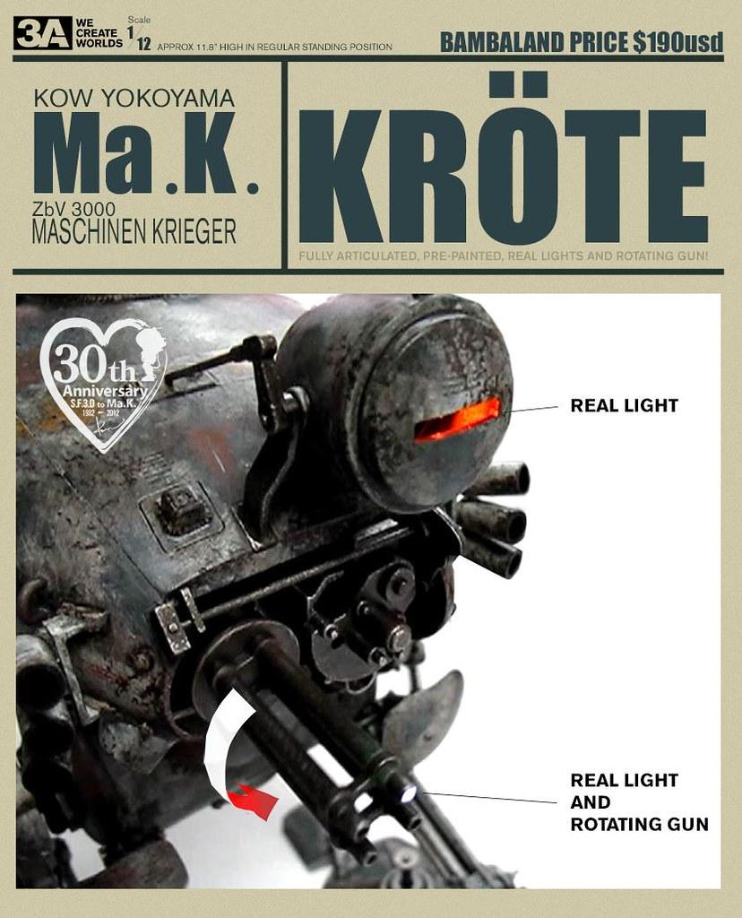 threeA - Ma.K. KROTE 1/12th