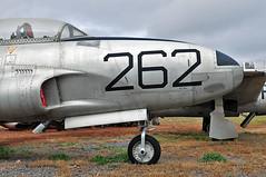 Lockheed T-33A Shooting Star s/n 57-15262 (skyhawkpc) Tags: planesoffame museum valle arizona az vallewilliams grandcanyonvalleairport 40g garyverver allrightsreserved copyright nikon d90 lockheed t33a shootingstar 5715262 jasdf 715262 warbird aircraft airplane aviation