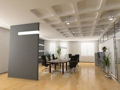 the modern office (john white2013) Tags: boss light house modern work design office chairs display furniture interior render empty room working computers professional corporation tables lcd success offices desks businesses conferense