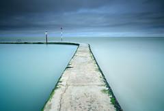 No Right Turn (Russ Barnes Photography) Tags: longexposure sea seascape colour beach landscape coast kent nikon margate tidalpool d800 leefilters 10stopndfilter russbarnes landscapephotographyworkshop leebigstopper zeiss21mmzf2