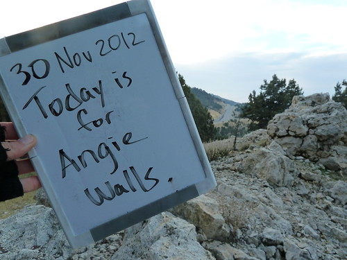 Today is for Angie Walls