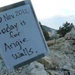 "Today is for Angie Walls <a style=""margin-left:10px; font-size:0.8em;"" href=""http://www.flickr.com/photos/59134591@N00/8232579674/"" target=""_blank"">@flickr</a>"