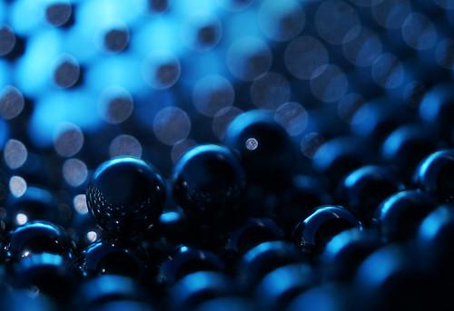 The Shining (orbed) blue metal orb bearing hcs