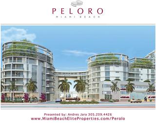 Peloro Miami Beach Front Elevation