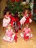 Die Kindergarten Minis (Kindergartenkinder) Tags: weihnachten reki dolls advent annette puki 2011 himstedt lillemore kindergartenkinder leleti