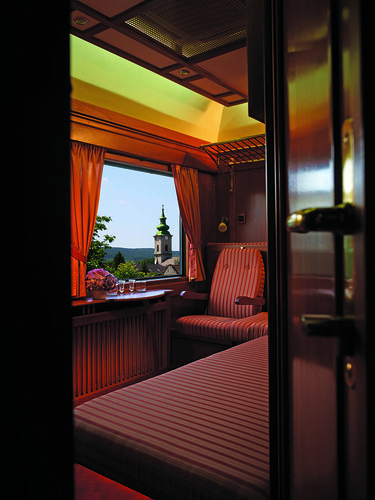 Luxury Train - Danube Express, Central Europe