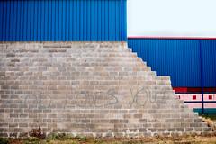 God Loves You! (Matthew Crowne) Tags: county door wood city wall graffiti sandy hurricane north atlantic pile end inlet block cinder